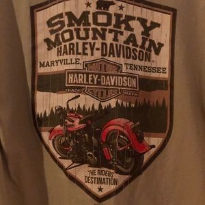 XL Harley-Davidson T-Shirt Smoky Mountain Harley